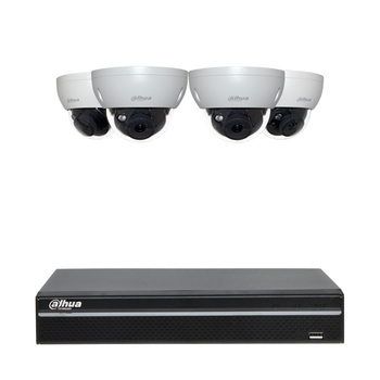 DAHUA 4CH Plug&Play CCTV KIT 4K NVR2104HS-P-4KS2 6MP POE IP CAMERAS IPC-HDBW4631R-S 4CH Security SYSTEM KIT