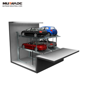 Underground Automatic Garage Smart Car Parking Facility