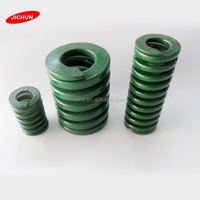 Free sample straight spring moulded cable/Crazy selling rectangular section mould die spring