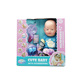 Warm Baby movable joint dolls reborn toddler with drinking function