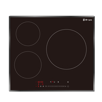 Half Bridge Drive Three Burner Built-in National Multi Price Electric Cooker
