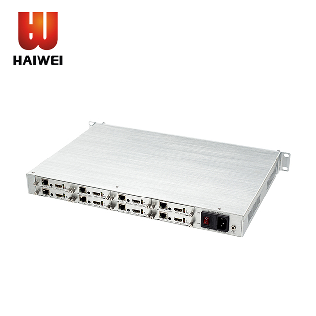 Haiwei H5118AV  IPTV Encoder HDMI /CVBS H.265 HEVC 8 channel Encoder for hotel TV System
