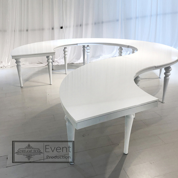 Surprising Modern Stainless Steel Semi Circle Dining Table Designs For Weddings On Sale Buy Wedding Dining Table Semi Circle Wedding Dining Table Semi Circle Ncnpc Chair Design For Home Ncnpcorg