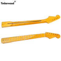 Electric guitar neck with fingerboard ST Electric guitar neck sq Canadian Maple glossy 22 Fret 26 inch length Amazon hotsale
