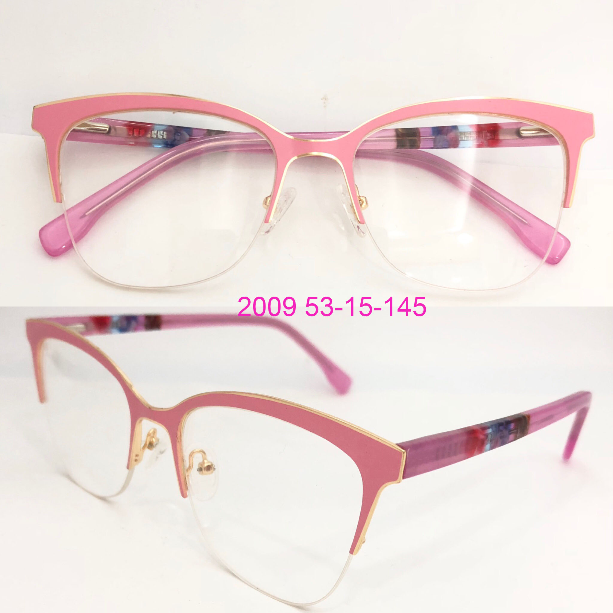 Double color plating eyeglasses spectacle frames gafas eyeglasses for Russia Market фото