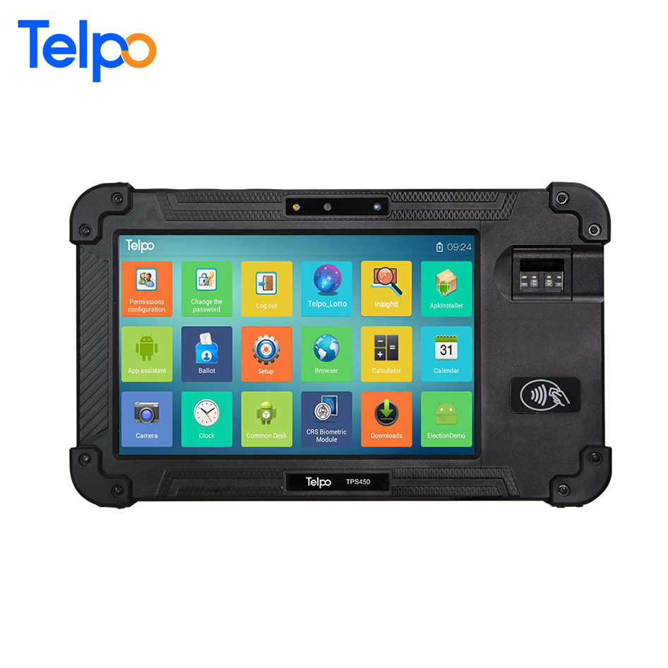 Telpo Tps450 Standalone Warehouse Management System China Tablet Press  Machine With Qr Code Scanner - Buy China Tablet Press Machine,Warehouse