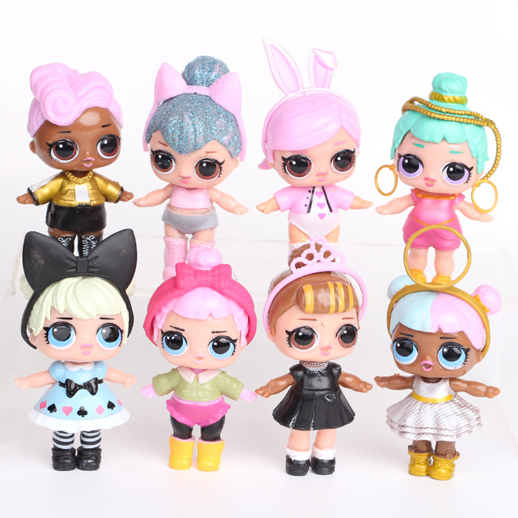 wholesale DIY dressing lol action figure gift box with costume <strong>toys</strong>
