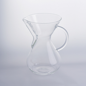 French Press Borosilicate Glass Coffee Pot with Handle