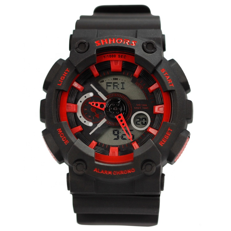 Wholesale 5 ATM Waterproof Sport Military Digital Wrist Watch for man фото