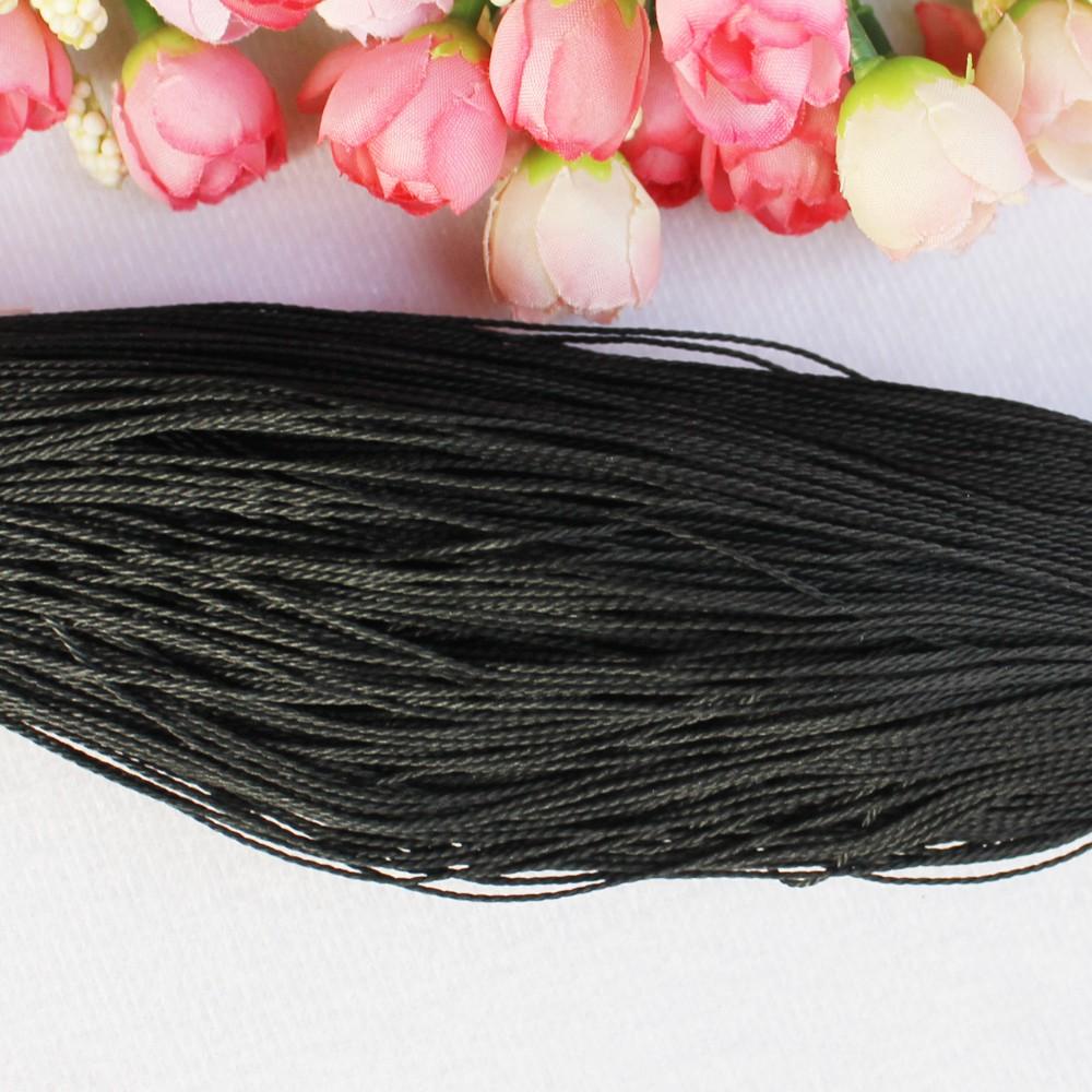 Полиэфирный круглый вощеный шнур, нить, вощеная нить, вощеная нить, полиэстер, витая кожа, шнур для шитья, для рукоделия