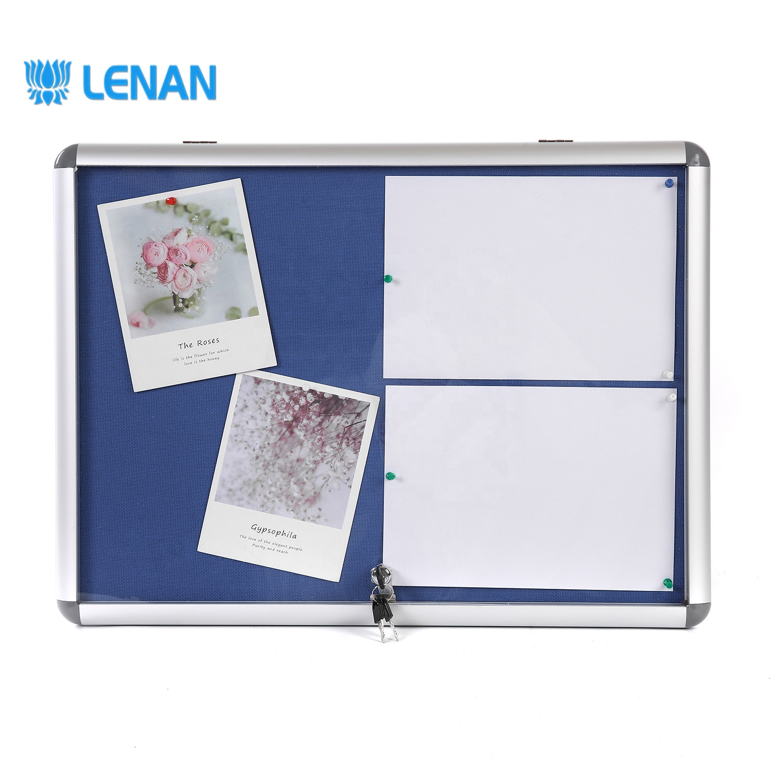 China leverancier school stof pin board message board memo kurk prikbord