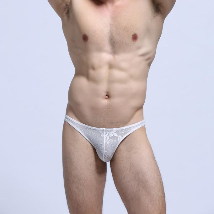 Gay male see thru underwear