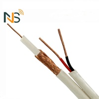 Hot Sell Factory Cheap Coax Cable/Coaxial Cable RG6 With Power Wire RG59 RG58 RG11 Best Price Cable