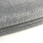 Hot selling cheap shiny polyester spandex silver lurex knitted fabric for dress