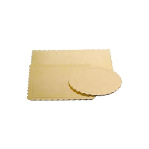 Wholesale paperboard golden drum cake board and boxes