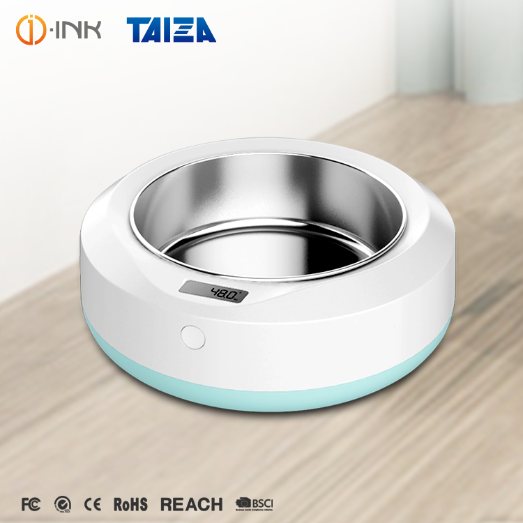 Plastic Round Food Weighing Pet <strong>Dog</strong> <strong>Bowl</strong> With Electronic Scales