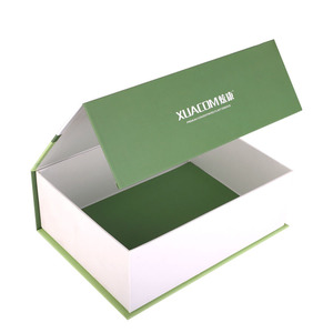 Hot!! Magnetic book case box cardboard with your own LOGO