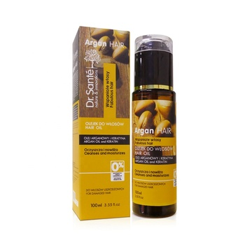 100ML OEM/ODM Nourishing hair serum Organic Argan oil serum