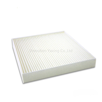205*190*35MM nonwoven pleated activated carbon MEIDA air filter car cabin filter accessories 04E129620A