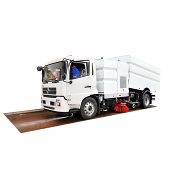 14cbm street washing cleaning road sweeper truck for sale