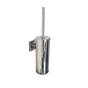 TBS5 Stainless Steel Wall Mount Toilet Brush Holder Chrome Brush