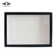 Wholesale 3d picture frames 6*8 home decor black shadow box frame