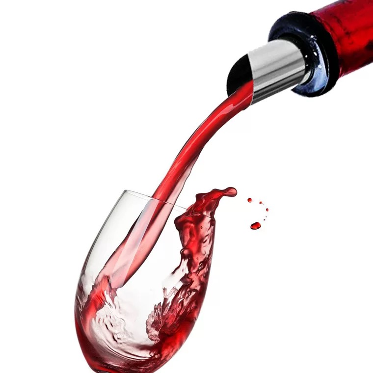 Customized Drip Stop Wine Pourer Drop Stopping фото