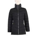 Wholesale High Quality Fashion Shiny Reversible Lady Winter Long Women Down Jacket Coat