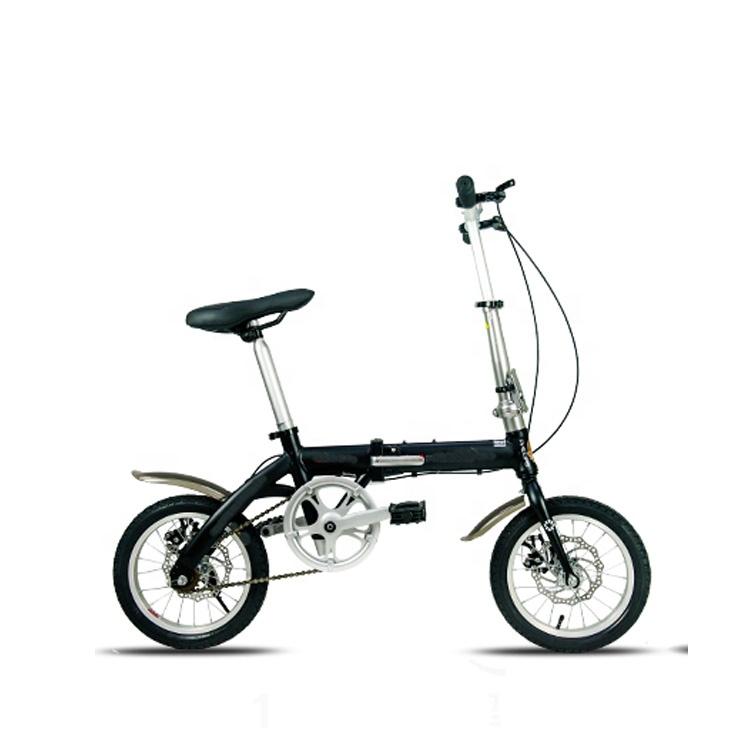 Fashion folding mini electric bike for young people 14 inch фото