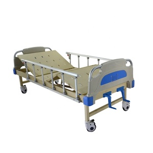 Manufacturer Supply Two cranks Hospital bed hot sell