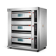Electric or Gas Industrial Commercial Bakery Food Machine Pizza Deck Oven for Bread