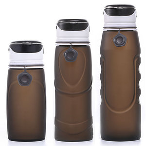 New Fashion FDA Approval Customization Collapsible Light Up Water Bottle