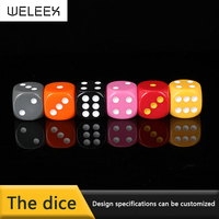 custom promotion plastic toy polyhedral bulk dice New Design Polyhedral Colored kid Dice For Game wholesale