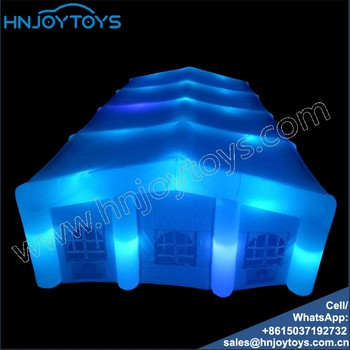 best selling large outdoor club party event inflatable tent booth advertising booth mini bar
