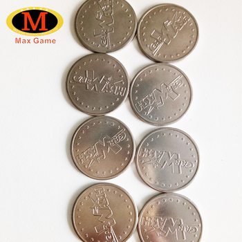 Custom Logo Metal Game Token For Coin Operated Machine - Buy Game  Token,Token,Metal Game Token Product on Alibaba com