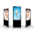 Indoor Floor Standing LCD Digital Signage AD Video Display With Network