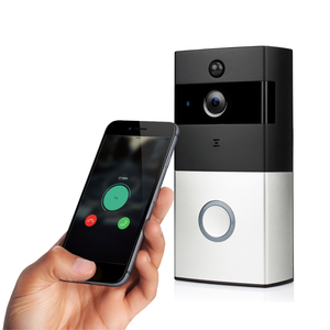 Wireless Safe smart home Two Ways Intercom and Remotely Video wifi Doorbell