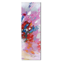 Hand painted canvas abstract art wooden inner frame wall decoration yiwu deco home art decor