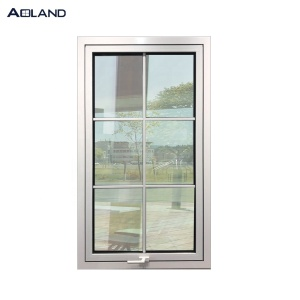Australian standard double glazed aluminum awning windows grill design window