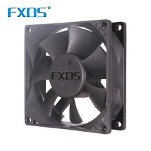 Low power fan 8cm 80*80*25mm dc solid fan 24v gleitlager Axial Flow auspuff Fans