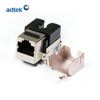 FTP / UTP RJ45 Cat6 Keystone Jack For Faceplate