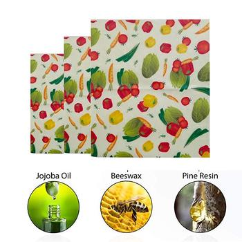 Beeswax Food Wraps + Reusable Produce Bags Organic Produce Bag Mesh See-Through Produce Bag Eco-Friendly Sustainable bag set