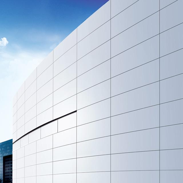China supplier fireproof aluminum alloy interior exterior decorative facade panel
