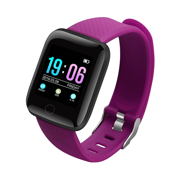 2019 new product hot sale smart band 116 plus heart rate fitness watch smart bracelet a6s