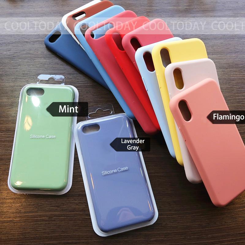 Per Il Iphone 11 11 Pro Max 2019 Custodia in Silicone di Colore