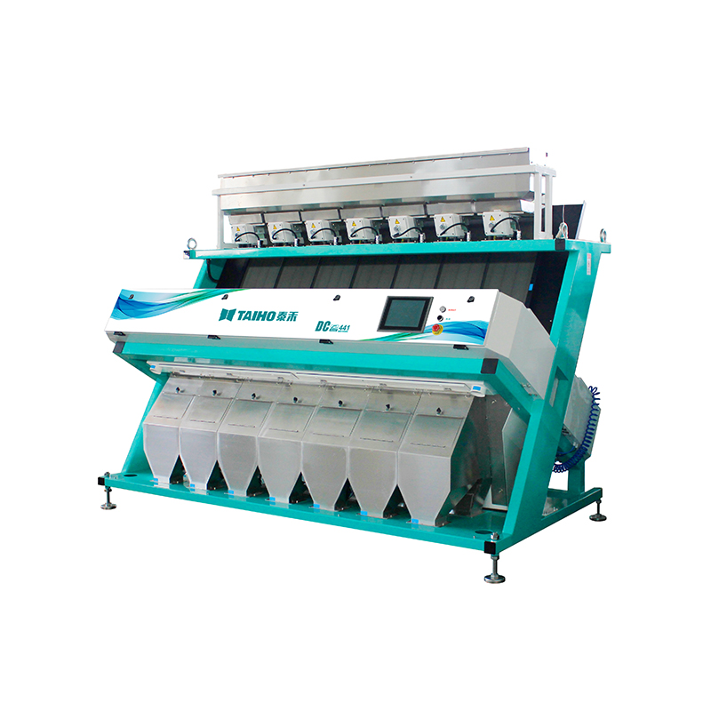 TAIHO CCD LED rice color sorter automatic rice mill machine