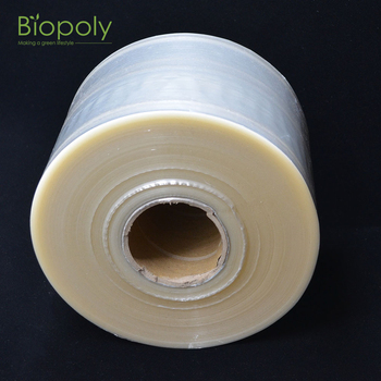 compostable biodegradable PLA shrink film for heat sealing packaging film