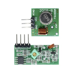 433Mhz RF Wireless Module Transmitter Receiver Link Kit 5V DC For Ard uino Raspberry Pi /ARM/MCU