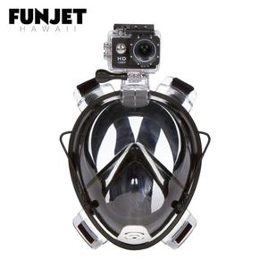 2019 Wholesale Adult 180 Panoramic Full Face Diving Swimming Snorkel Mask with Camera