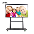 YCZX infrared 10 touch points LED smart board screen display panels for education